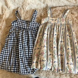 Pair of Old Navy 2T spring dresses